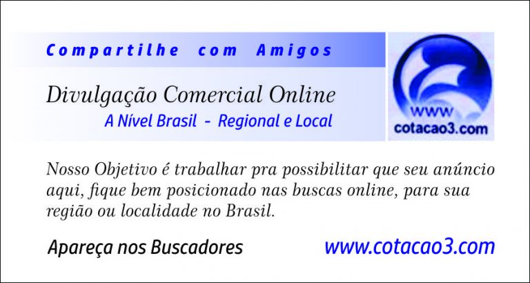 Divulgação Comercial Online