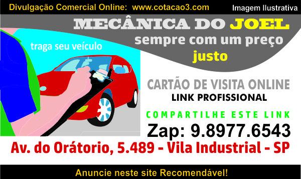 Auto Mecânica na Vila Industrial do Joel