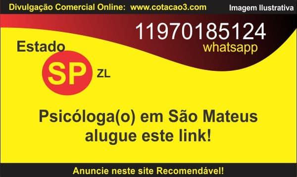 Psicóloga em São Mateus